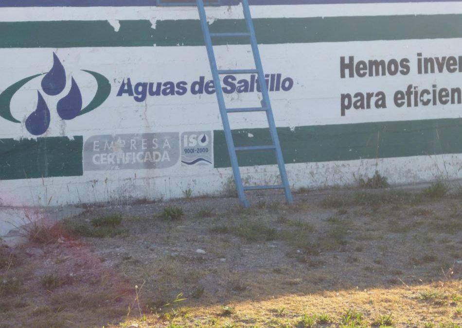 Електронен воден омекотител в Агуас де Салтийо (Мексико)