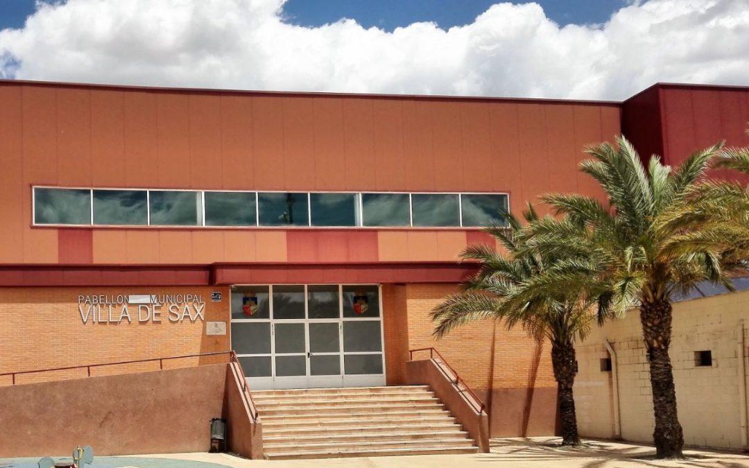 Descalcificador sin sal para polideportivo de Sax (Alicante)